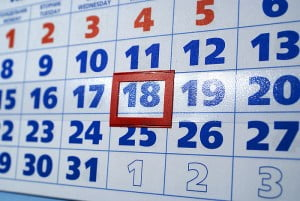 Шаблон календарной сетки на 2011 и 2013 год