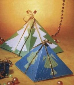 Оригинальная картонная упаковка для детских подарков