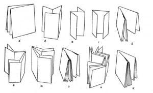 Фальцовка бумаги, буклетов. Фальцовочно-склеивающая машина