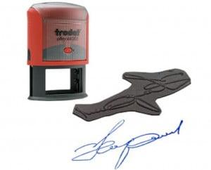Заказать изготовление и печать факсимиле подписи и штампов