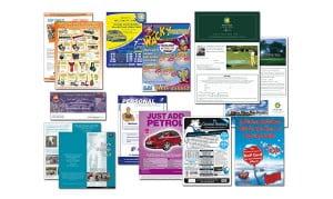 Виды детских флаеров-листовок