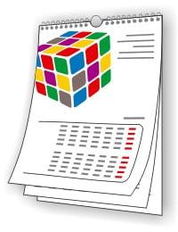 Купить шаблон квартального календаря, его стоимость