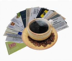 Бумага для цифровой печати визиток и листовок