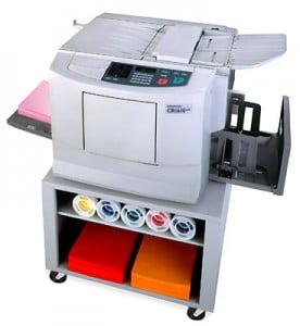 Краска и пленка для цветного ризографа