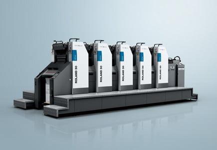 Изготовление пластин и листовые печатные машины