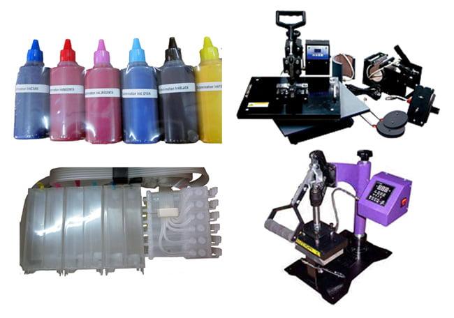 Принтер, бумага и чернила для сублимационной печати