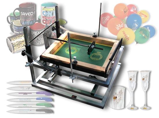 Шелкография: краски, сетка, станок