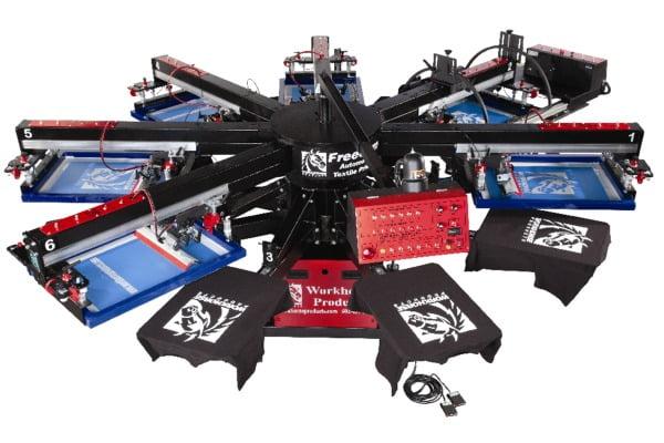 Шелкография: печать, технология, оборудование