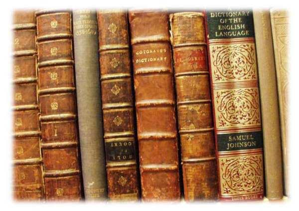 Обложки старых и старинных английских книг