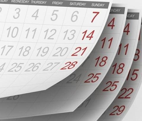 Версия для печати производственного календаря 2012