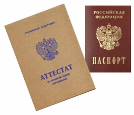 Ксерокопия диплома, загранпаспорта, трудовой книжки