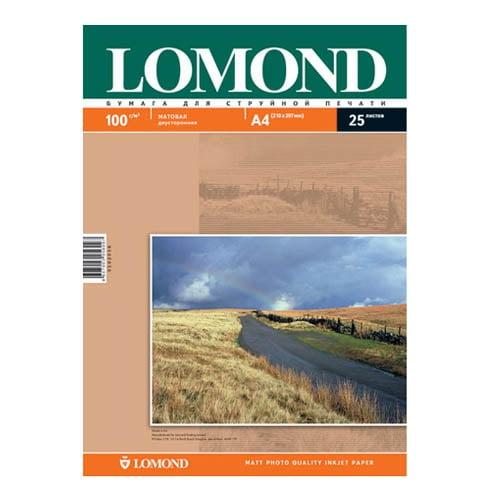 Купить глянцевую и матовую фотобумагу lomond а4