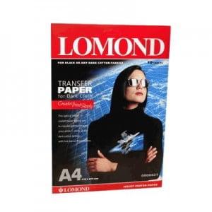 Купить термотрансферную  бумагу для тканей lomond для струйных принтеров
