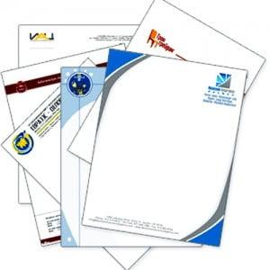 Разработка примера образца фирменного бланка организации