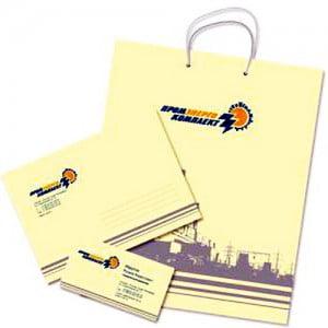 Изготовление папок, ручек, футболок, бумажных пакетов с логотипом