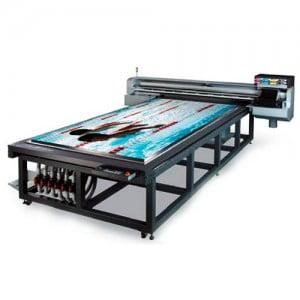 Принтер для широкоформатной печати на стекле ультрафиолетовыми красками