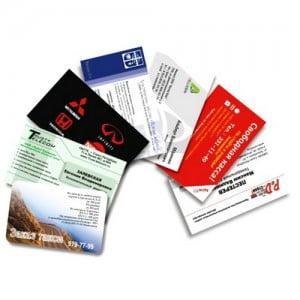 Изготовление и печать дешевых визиток СПб