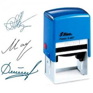 Использование факсимильной подписи на документах и счет фактурах
