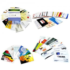 Срочное изготовление и печать визиток в Москве