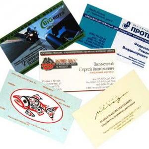 Где заказать онлайн дешевые визитки Москве?