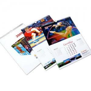 Изготовление шаблонов перекидных календарей, купить календарь