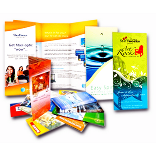 Рекламные буклеты от типографии «Maxprint»