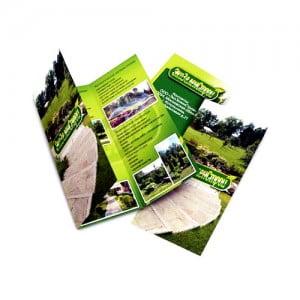 Примеры создания рекламных буклетов листовок