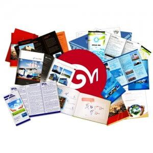 Как сделать образцы и шаблоны для изготовления рекламных буклетов?