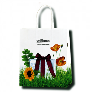 Изготовление подарочных пакетов больших размеров с логотипом