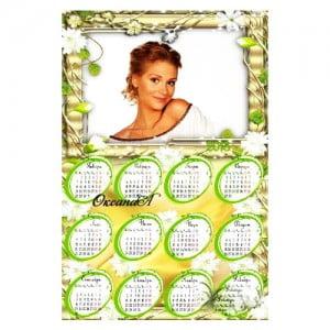 Изготовление карманных и квартальных календарей с фотографиями