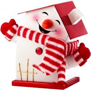 Новогодняя упаковка для сладких детских подарков оптом
