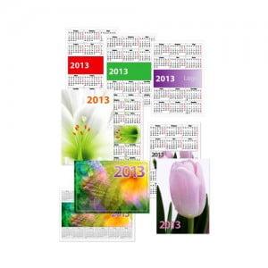 Печать карманных и настенных перекидных календарей