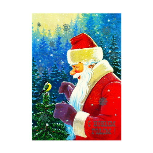 новогодние открытки 2013 год: