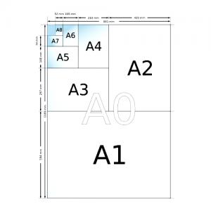 Самая большая таблица форматов бумаги для печати, ГОСТ
