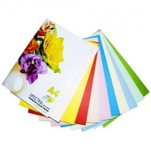 Плотная самоклеющаяся двусторонняя цветная бумага
