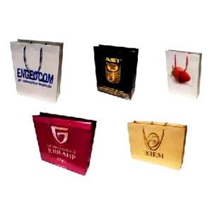 Заказать изготовление бумажных пакетов с логотипом, тонкости производства