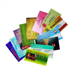 Офсетная печать без увлажнения листовок, визиток