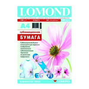 Купить бумагу для сублимационной печати Lomond