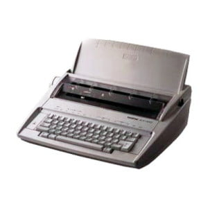 Шрифт пишущей электронной машинки, ремонт