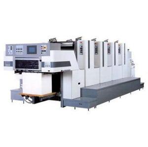 Какие есть виды листовых печатных машин?