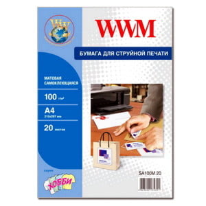 Для чего используется самоклеющаяся бумага для принтера?