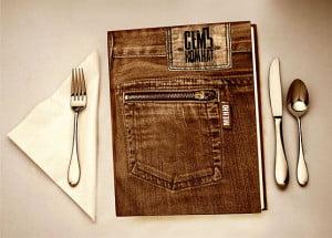 Изготовление меню для ресторанов