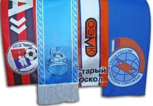 Шарфы с логотипом