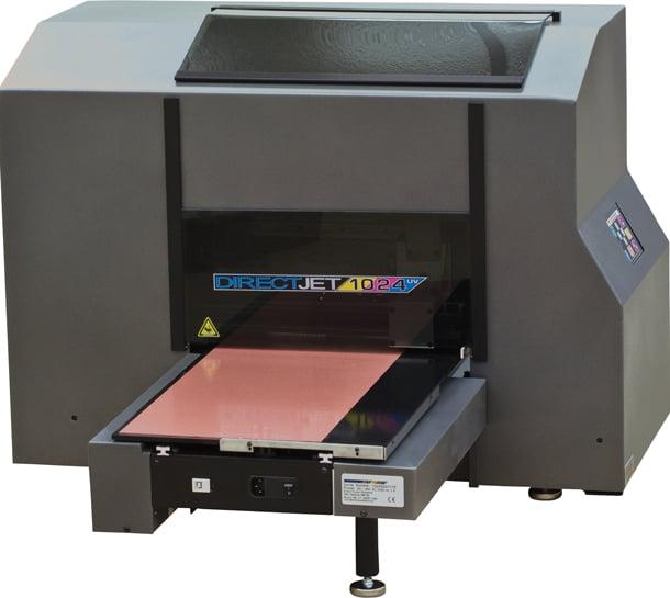 Американский принтер с ультрафиолетовыми светодиодами