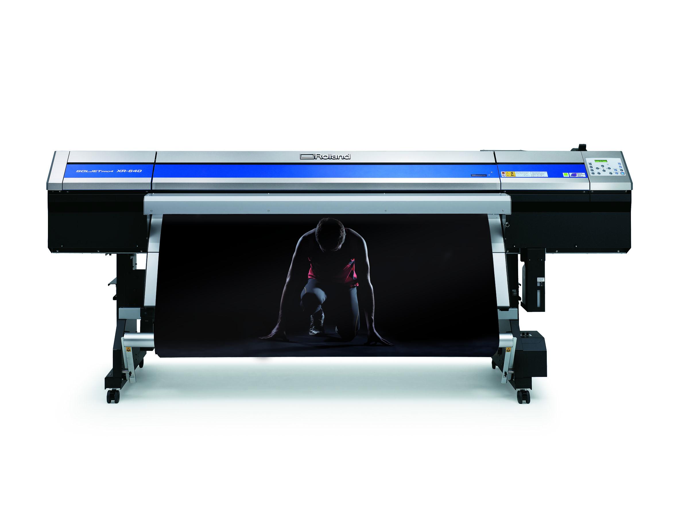 Производственный принтер Roland SolJet Rro IV XR-640