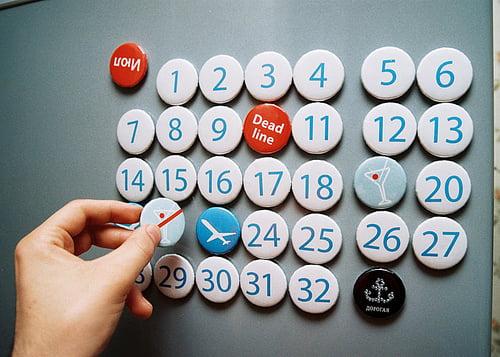Современный календарь — время и доход