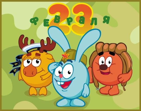 Дизайн детских открыток к 23 февраля