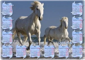 Дизайн календарей на 2014 год