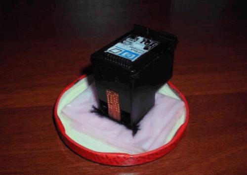 Как чистить картридж принтера?
