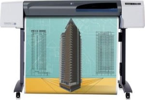 Струйный плоттер HP Designjet 500